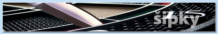 Elektronické šipky pro komerční použití a turnaje
